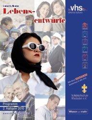 Herbstprogramm 2010 - Deutsches Institut für Erwachsenenbildung
