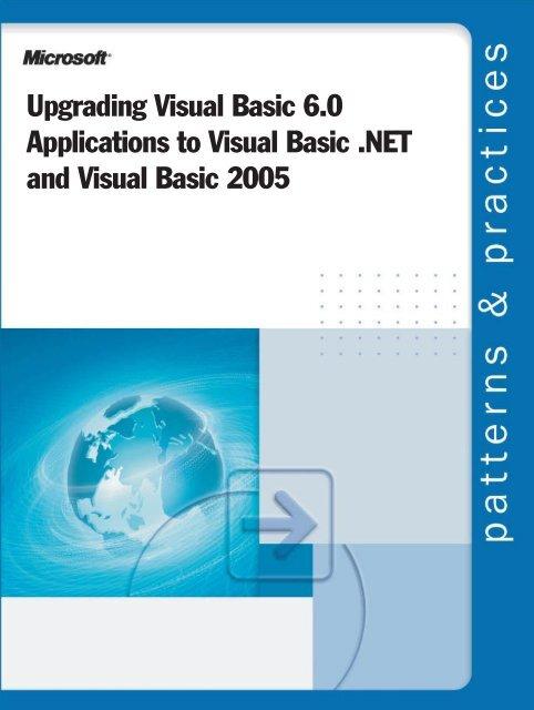 Upgrading Visual Basic 6 0 Applications to Visual Basic