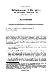 Umsatzsteuer in der Praxis - Umsatzsteuerpraxis.de
