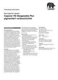 TI Capaver VB Glasgewebe Plus 854.qxp - Caparol Farben AG