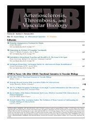 Editorials ATVB in Focus: Life After GWAS - Arteriosclerosis ...