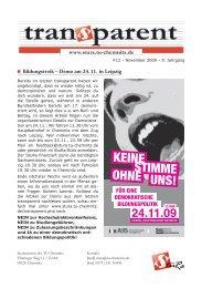 24.11.0913 - StuRa Chemnitz