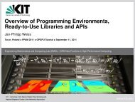 Overview of Programming Environments, Ready-to-Use ... - gpgpu