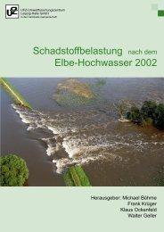 Schadstoffbelastung nach dem Elbe-Hochwasser 2002 - UFZ