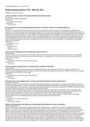 Onderzoeksprojecten (170 - 180 van 327)