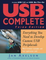 USB Complete: Everything You Need to Develop USB ... - PIC Vietnam
