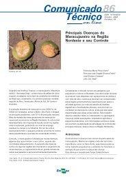 Principais Doenças do Maracujazeiro na Região Nordeste e