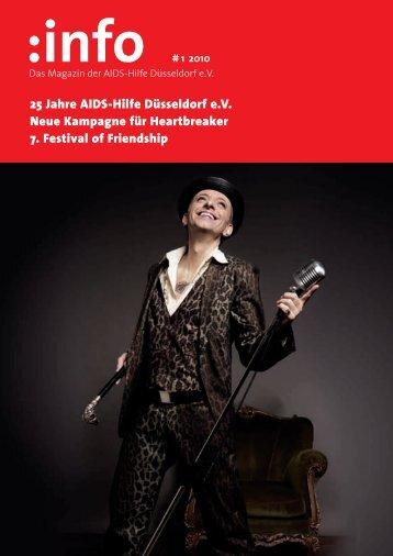 25 Jahre AIDS-Hilfe Düsseldorf e.V. Neue Kampagne für ...