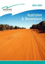 Destination Australia Move Reisen 2013-2015