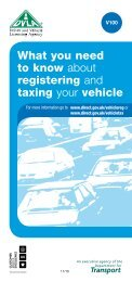 What you need to know about registering and taxing your ... - DVLA