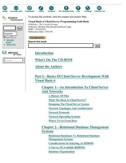 Com//DCOM Blue Book with CDROM