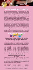 KURSANGEBOT - Tanzschule Rodenkirchen - Seite 2