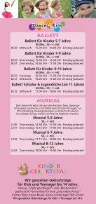KURSANGEBOT - Tanzschule Rodenkirchen - Seite 3