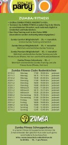 KURSANGEBOT - Tanzschule Rodenkirchen - Seite 6