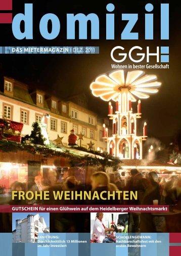 Domizil, Ausgabe Dezember 2011 - GGH