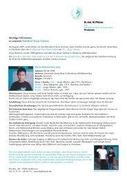 Wichtige Information, zu unserem Patenkind Oscar Antonio Oscar ...