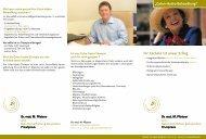 Colon-Hydro-Behandlung - Dr. med. Markus Pfisterer