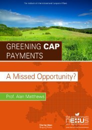 Greening CAP Payments_A Missed Opportunity-IIEA-environex_project-2013