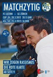 auch im Wir freuen uns auf ein «duftes» Spiel! - FC Luzern