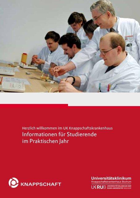 PJ-Broschüre 2012 - Knappschaftskrankenhaus Bochum
