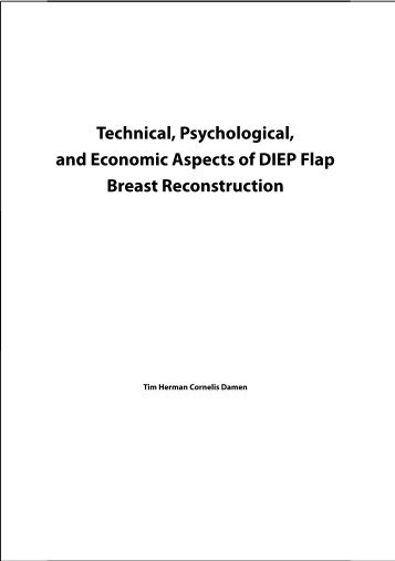 Technical, Psychological, and Economic Aspects of DIEP Flap ...