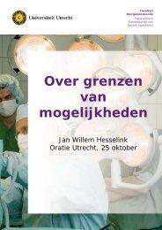 Over grenzen van mogelijkheden - Universiteit Utrecht
