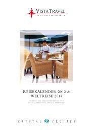 REISEKALENDER 2013 & WELtREISE 2014 - vista travel