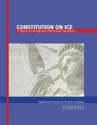CONSTITUTION ON ICE - Cardozo School of Law - Yeshiva University