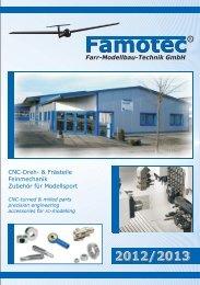 Aktueller Katalog Modellsportzubehör - FAMOTEC GmbH
