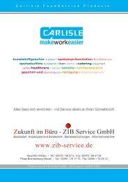 CARLISLE FoodService Products PDF-Katalog - ZIB Service GmbH