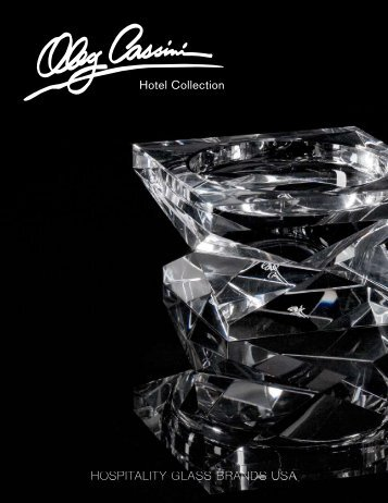 Oleg Cassini Stock Items - Hospitality Glass Brands USA