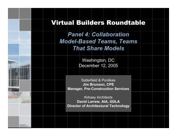 Projects - Virtual Builders Roundtable