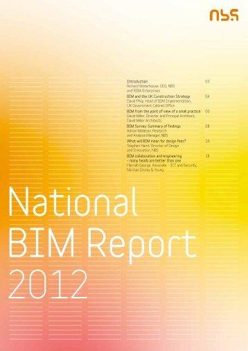 Introduction Richard Waterhouse. CEO, NBS and ... - BIM Task Group