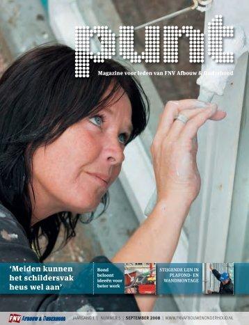 Punt nr. 5 september 2008 - FNV Bouw