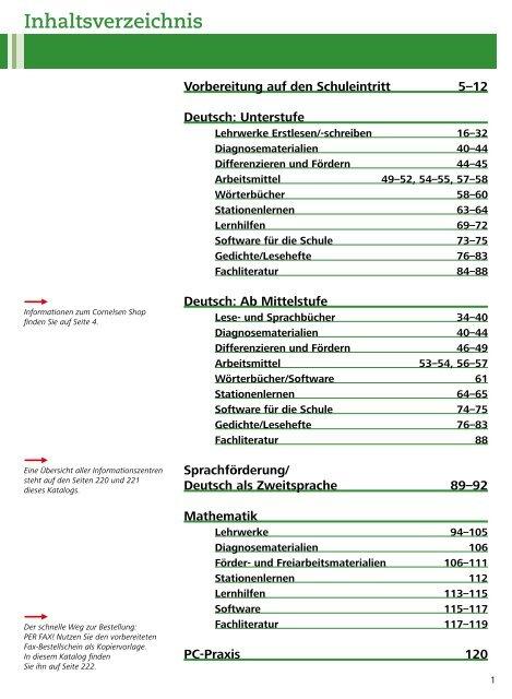 Deutsch Cornelsen Verlag