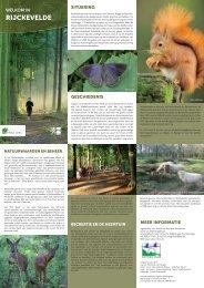 Folder met plannetje van Ryckevelde (pdf-document – 647kB