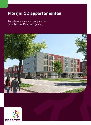 Florijn: 12 appartementen - Antares