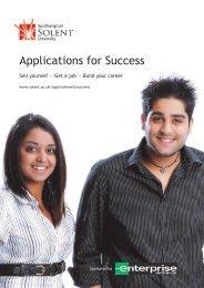 Applications for Success - Portal - Southampton Solent University