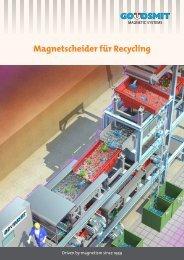 Recycling Allgemein - Goudsmit Magnetics