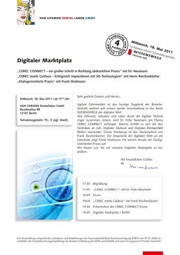 Einladung als Pdf-Datei - VAN GHEMEN DENTAL LABOR GMBH