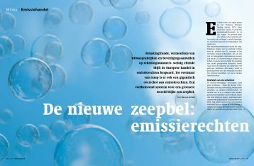 De nieuwe zeepbel - ImpactReporters
