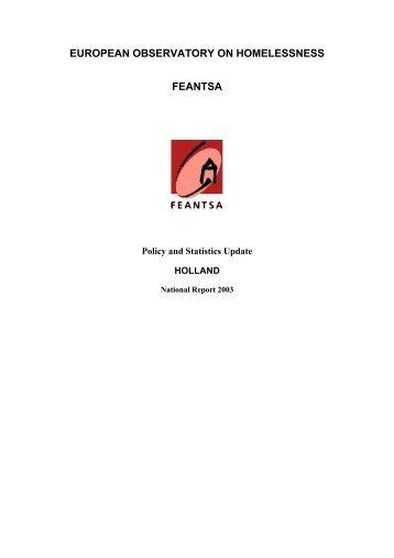 Research review - Feantsa
