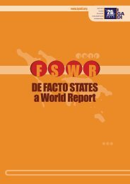 De Facto StateS a World Report - IGADI