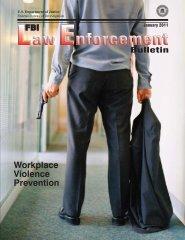 Workplace Violence Prevention - FBI