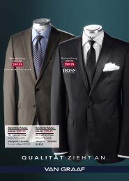Business-Anzug. Business-Anzug. - Van Graaf