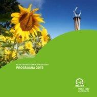 Programm 2012 - Wuppertal - Kinder