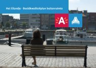Het Eilandje - Beeldkwaliteitplan buitenruimte - Stad Antwerpen