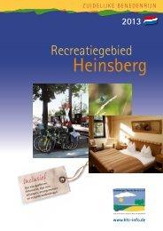 Magazine 2013 - Heinsberger Tourist-Service