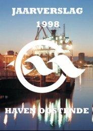 jaarverslag 1998 - Port Of Oostende