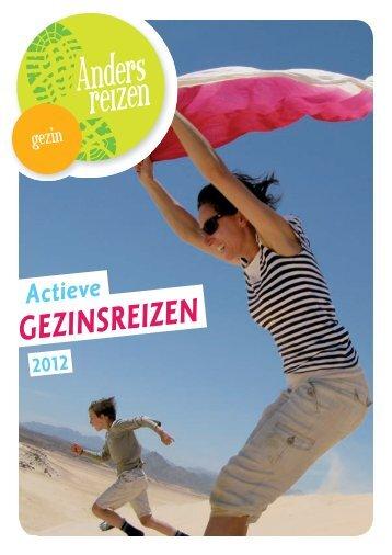 Download de brochure: Gezinsreizen 2012 - Anders Reizen